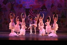 Final Pose of the Waltz of the Flowers. VRDC Nutcracker Ballet 2013  photo: CJ Kane