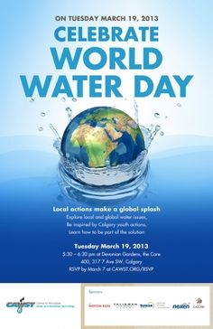 Be inspired to make change with CAWST, the Centre for Affordable Water and Sanitation Technology, in celebrating local youth actions and global cooperation at World Water Day.