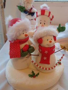 polymer clay porcelana fria pasta francesa masa flexible fimo gum paste pasta goma modelado figurine modelling topper biscuit christmas xmas pascua natal navidad