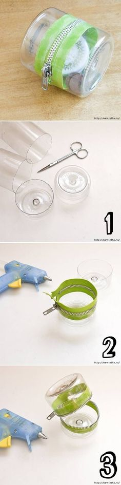 Plastic jar reuse
