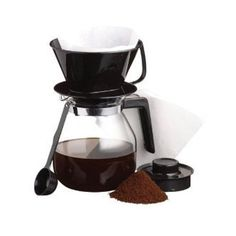 Coffee Maker Jug Set - For Filter / Ground Coffee *** Check out this great image  : Small Appliances