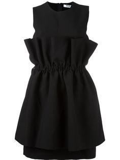 MSGM Pleated Overlay Dress. #msgm #cloth #dress