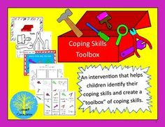 Coping Skills Toolbox by Closet Counselor | Teachers Pay Teachers