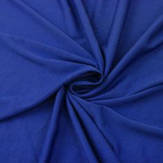 Royal Blue JERSEY KNIT Fabric Apparel Fabric Royal by FabricBros, $4.90