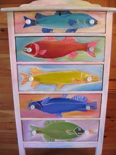 Native Fish Bureau. $200.00, via Etsy.