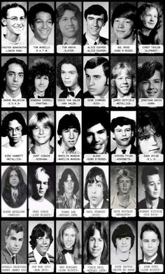 Music ©: Class Picture of Music Stars! Rock And Roll Bands, Rock Bands, Rock N Roll, Rock Posters, Concert Posters, Digital Foto, Class Pictures, Music Pics, Heavy Metal Music