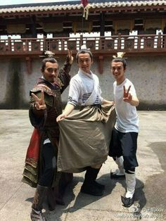 Chen Long,Hugh Hu,Nick Wang(from left to right) Nirvana in Fire Chen Long, Nirvana In Fire, Hu Ge, Fantasy Romance, Film School, Drama Movies, Actor Model, Actors & Actresses, Beautiful Men