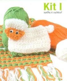 Kit I: Sheep and Scarf/Ovelha e Cachecol