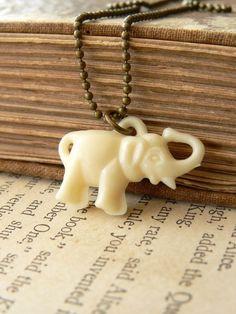 Lucky Elephant, Vintage Charm #luckycharm