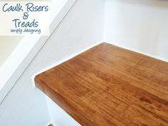 Best Caulk All Seams On The Risers And Skirt Boards Remodel With Prefinished Stair Treads Stair Treads 400 x 300