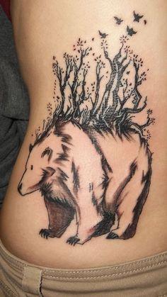 Forest spirit. Was done at Nvs-Ink Art studio, Vidor,TX. 5-10-12 by Artist James Valdez
