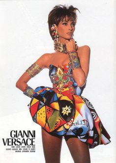 Spring 1991 | 33 Years Of Versace: A Retrospective In Supermodels And Manscaping