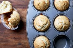 Brown Butter Coconut Almond Muffins recipe on Food52