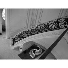 Stair railing from Wrought Iron Art Ltd.