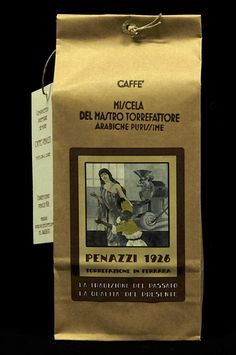 Master's Roaster's Blend 100% Arabica by Caffè Penazzi1926, on sale on Shopify, at Miscela del Mastro Torrefattore 100% Arabica, da Caffè Penazzi1926, in vendita su Shopify, a http://penazzi-1926-coffee-roastery-ferrara.myshopify.com/products/master-roaster-s-00-arabica-blend-250-g-bag