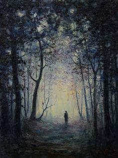 "starxgoddess:""My Melancholy / Mariusz Lewandowski"" Dark Fantasy, Fantasy Art, Sad Paintings, Abstract Paintings, Symbolic Art, Dark Art Drawings, High Art, Art Inspo, Stars"