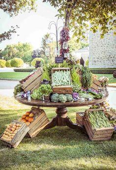 Bodegón de verduras, visto en Casilda se casa