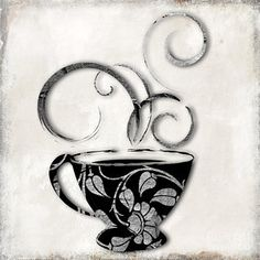 Damask Painting - Silvercup by Mindy Sommers