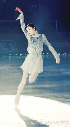sparkling ice queen kim yuna