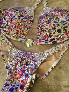 Custom Deluxe Themewear Triangle Design with wings $759 or bikini only – Ravish Sands