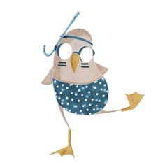 Estamos ya en la cuenta atrás para las jornadas de Ilustratour 2013, que se celebrarán el próximo mes de julio en Valladolid. Muchos de los... Art Drawings For Kids, Doodle Drawings, Doodle Art, Watercolor Animals, Watercolor Art, Baby Posters, Art Et Illustration, Character Design Animation, Art Sketchbook