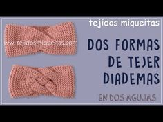 Bandana, Stitch Patterns, Knit Crochet, Eyeliner, Knitting, Blog, How To Make, Fashion, Crochet Turban