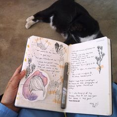 Gwendle is very into journalism and drawing! He finds it really fun Planner Bullet Journal, Journal Pages, Journal Ideas, Sketchbook Inspiration, Art Sketchbook, Art Diary, Writing Art, Creative Journal, Visual Diary