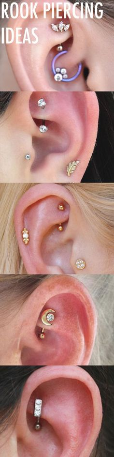 33 ideas piercing snug feminino – Tattoo`s & Piercings… - GoHairstyles Piercing Snug, Rook Piercing Jewelry, Dermal Piercing, Ear Jewelry, Piercing Tattoo, Body Jewelry, Jewellery, Piercings Tumblr, Cool Piercings