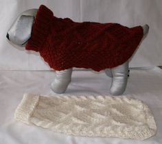 Hand Knitted Aran Dog Jumper Dog Sweater by IrishSmallKnits, Dog Jumpers, Diamond Pattern, Hand Knitting, Your Dog, Wool, Fabric, Sweaters, How To Make, Etsy