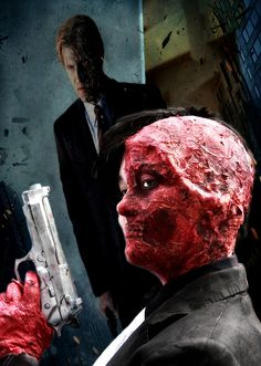 Harvey Dent/Two-Face by busha_b, via Flickr