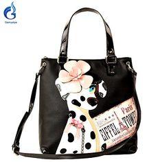42.63$  Watch here - http://ali05x.worldwells.pw/go.php?t=32611499373 - Borsa Style Italy Handicraft Art Design Haba dog bags Women Shoulder Bag Vintage Handbag Black Tote borse di marca bolsa Female 42.63$