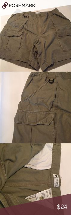 Columbia cargo shorts SZ 42 Great used condition Columbia Shorts Cargo