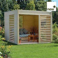 Looking for contemporary summer houses? Find out who sells the best contemporary summer houses. WhatShed reveal today's best contemporary summer houses. Contemporary Summer Houses, Contemporary Garden Rooms, Contemporary Design, Pergola Patio, Pergola Plans, Backyard Patio, Pergola Kits, Pergola Ideas, Backyard Pavilion