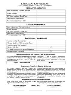 Contract Vanzare Cumparare Auto din Germania Bilingv - Old School Bill Of Sale Template, Gaming Wallpapers, Tatoos, School, Words, Google, Whisky, Travel, Lavender