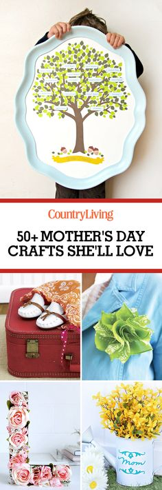 50 Mother's day DIY