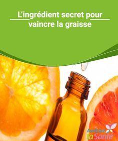 L'ingrédient secret pour vaincre la graisse Certains aliments permettent de se débarrasser plus facilement de kilos que d'autres. Venez découvrir l'ingrédient secret pour vaincre la graisse !