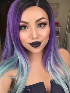 Wig Type: Synthetic Lace Front Wig Materials: Heat Resistance Silk Hair Length: 24 Inch Hair Color: Multicolor Hair Density: 150% Heavy Hairline: Natural Hairline Lace Material: Swiss Lace Cap Size: Average Cap Construction: Glueless Lace Cap