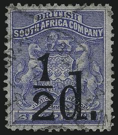 1891 Commonwealth, Ethiopia, Postage Stamps, South Africa, Empire, British, Classic, Blue, World