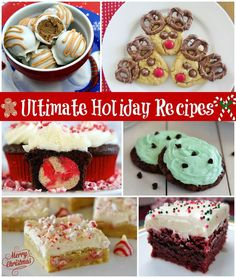 Ultimate Holiday Recipe Round-Up | the best Christmas and holiday recipes and crafts from my favorite food bloggers!