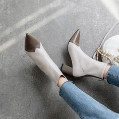 Chiko Amber Pointed Toe Block Heels Boots Heeled Boots, Shoe Boots, Ankle Boots, Block Heel Boots, Block Heels, Pointed Toe Block Heel, Boot Shop, Toe Shape, Character Shoes