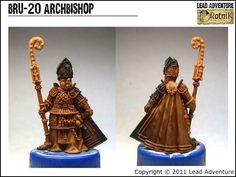 BRU-20 Archbishop Lead Adventure, Miniatures, Minis