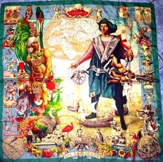 Coulda Shoulda Woulda: Kermit Oliver - Painter and Hermes' only American scarf designer