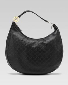 GG Twins Large Hobo Bag, Black by Gucci at Neiman Marcus.  red rover..red rover send this bag right over..