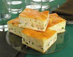 Torta cremosa de palmito e presunto - Guia da Cozinha