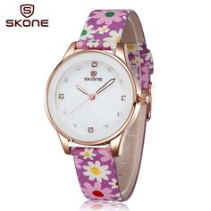 $15.35 Luminous Hand Flower Fabric Band Gold White Rhinestone Women's Fashion Watches #Flower #Gold #Fashion #Watch