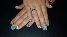Uñas de gel colores
