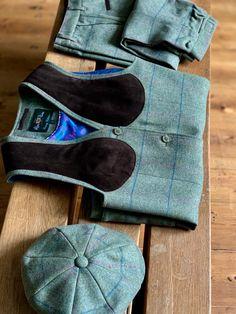 *Sherwood Forest Tweed Windsor Breeks hunting//shooting wear Moss Olive//Burnt Or