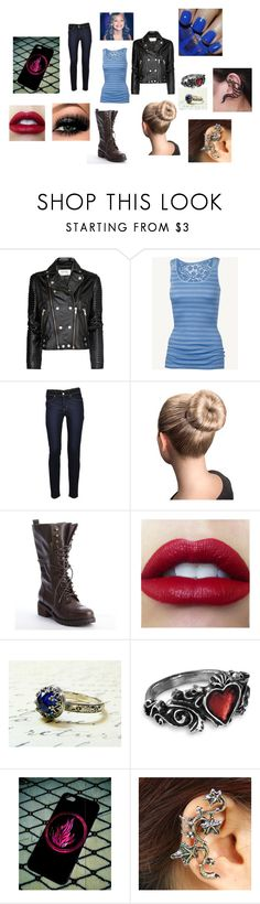 """""""Chapter 12 Lyric's Outfit Meeting the Volturi"""" by lyric-denali ❤ liked on Polyvore featuring moda, MANGO, Fat Face, Levi's, Kelsi Dagger Brooklyn, Samsung, women's clothing, women, female y woman"""
