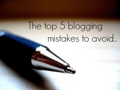 On the iFabbo Blog: The Top 5 Blogging Mistakes to Avoid Image via Flickr by Maria Reyes-McDavis #blog #blogging #socialmedia #mistakes #beauty #fashion #bbloggers #fbloggers
