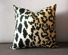 Leopard thin Velvet Pillow Cover - Animal Print Throw Pillow - Gold and Black Short plush Velvet Pillow - Lumbar pillow  306 by sweetystore on Etsy https://www.etsy.com/listing/240363455/leopard-thin-velvet-pillow-cover-animal